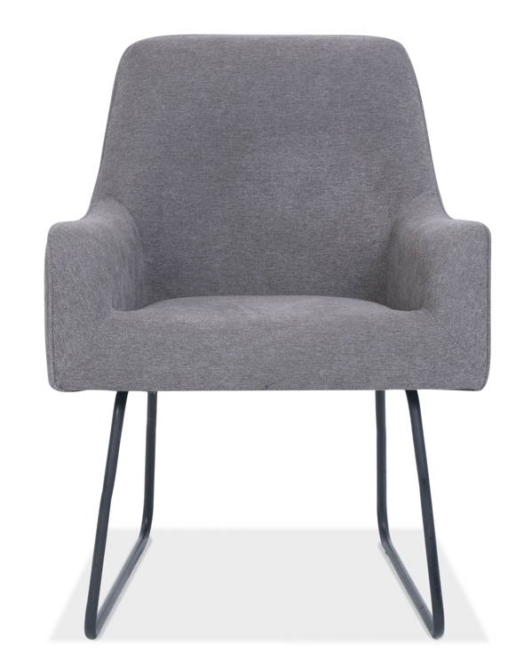 Guest Chair with Black Base by Office Source Office Furniture