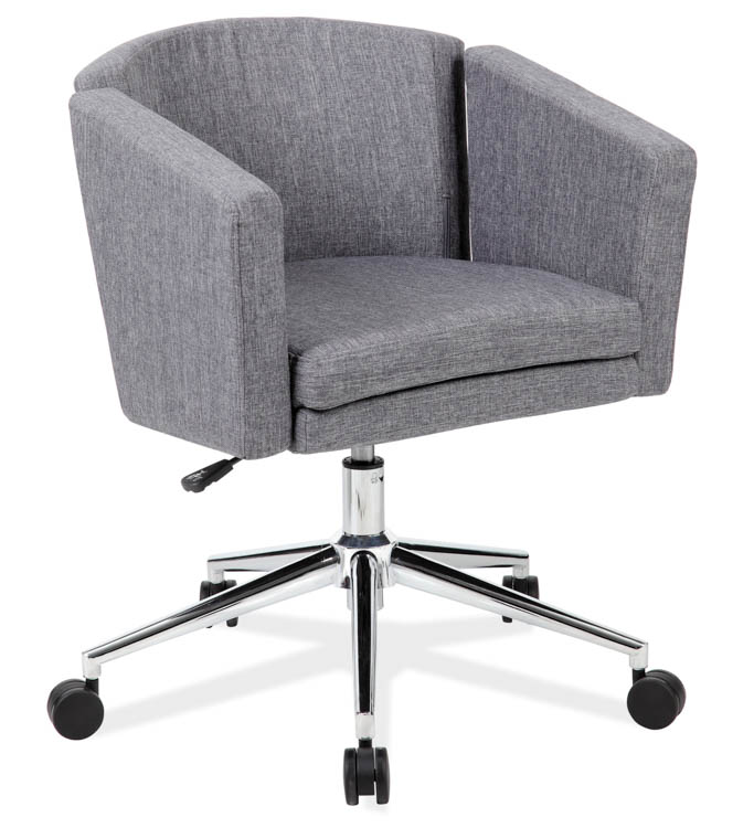 Upholstered Swivel Chair by Office Source Office Furniture