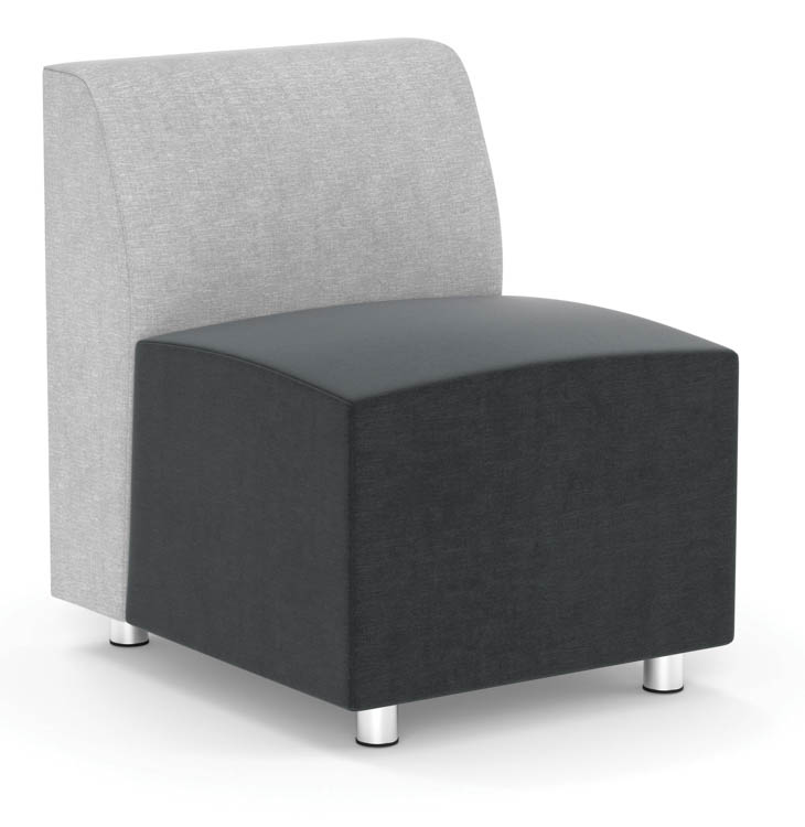 Armless Modular Chair by Office Source Office Furniture