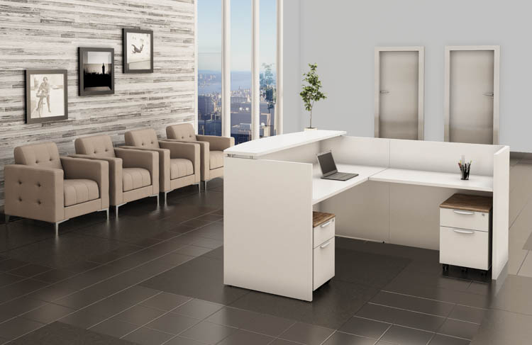 Reception Desk Unit by Office Source Office Furniture