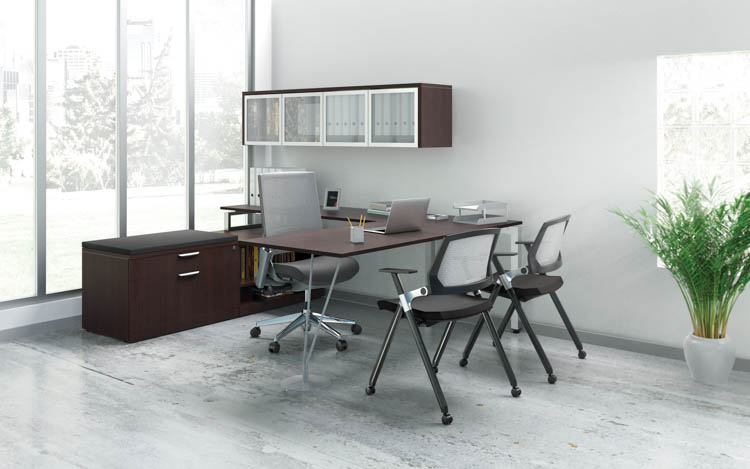 L Shaped Desk Set by Office Source Office Furniture