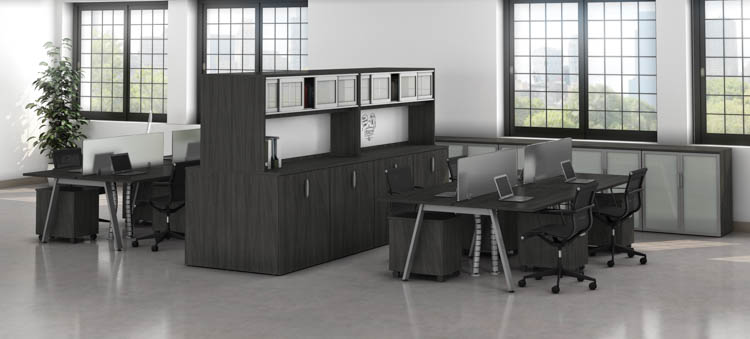 8 Person Workstations by Office Source Office Furniture