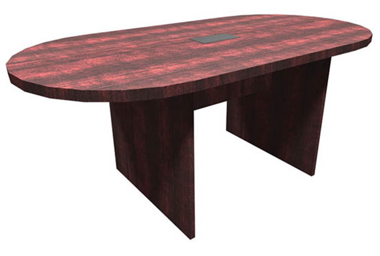 6' Racetrack Conference Table by Office Source Office Furniture