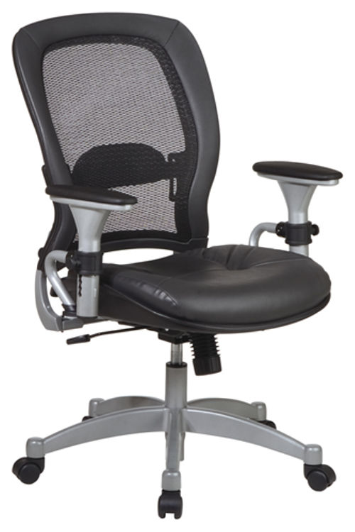 Professional Leather Matrex Back Chair by Office Star