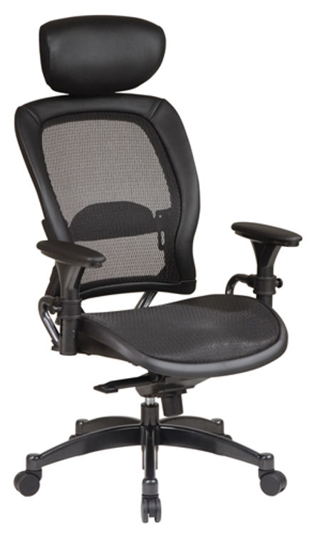 Professional Matrex Chair with Adjustable Headrest by Office Star