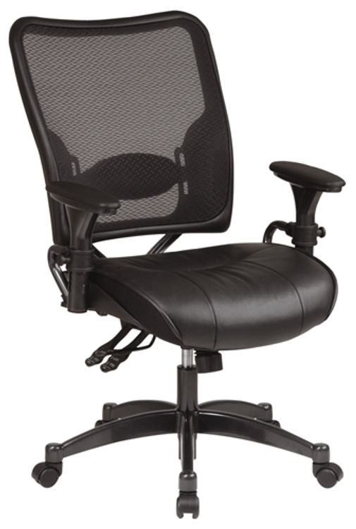 Professional Dual Function Air Grid Chair by Office Star