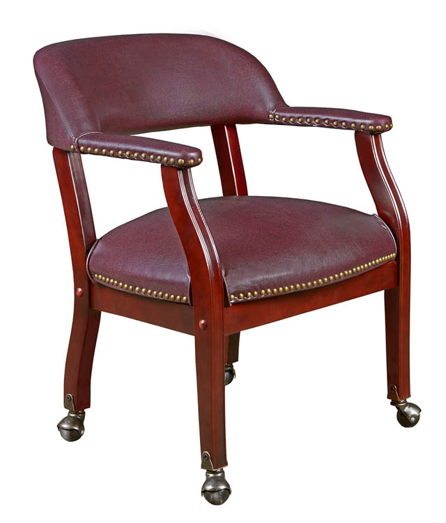 Ivy League Captains Chair with Casters by Regency Furniture