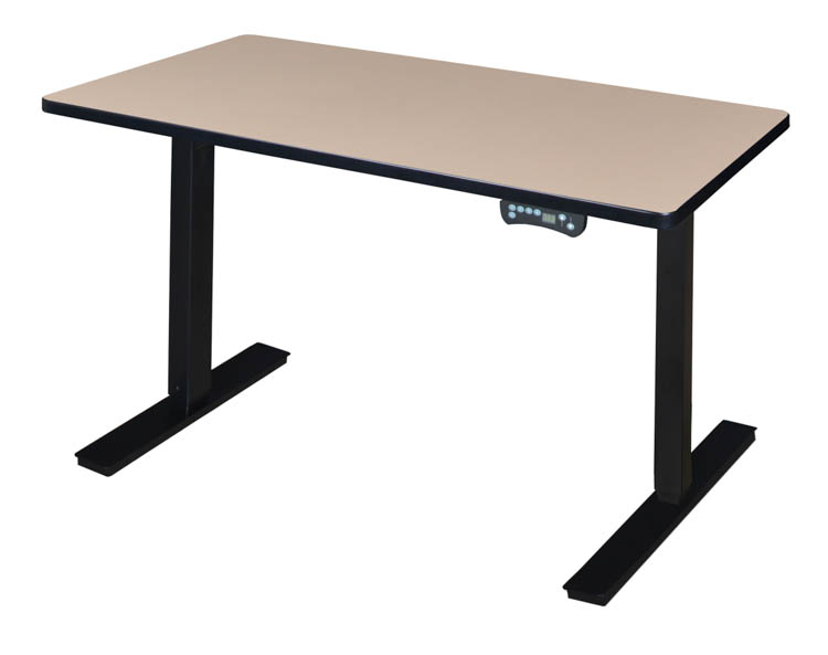 Picture of 48 x 24 Height-Adjustable Power Desk by Regency Furniture