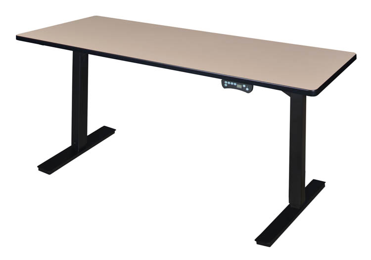 Picture of 60 x 24 Height-Adjustable Power Desk by Regency Furniture