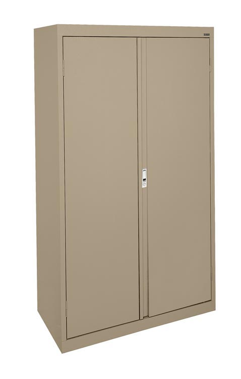 "36""W Double Door Storage Cabinet with File Drawer by Sandusky Lee"