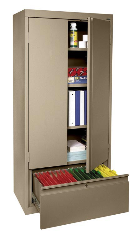 Storage Cabinet with File Drawer by Sandusky Lee