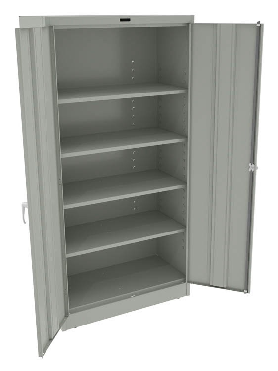 "72""H Deluxe Storage Cabinet by Tennsco"