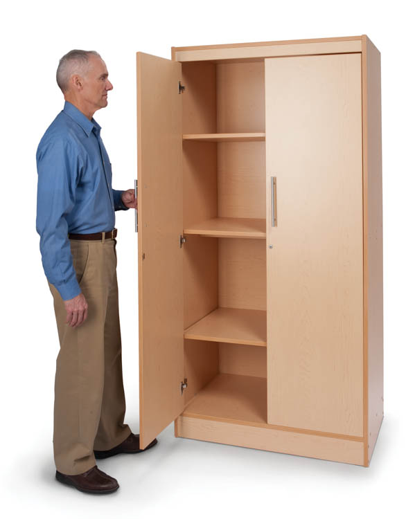 Tall & Wide Storage Cabinet by Whitney Brothers